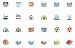 建物、家、地図のパワーポイント素材サイトまとめ